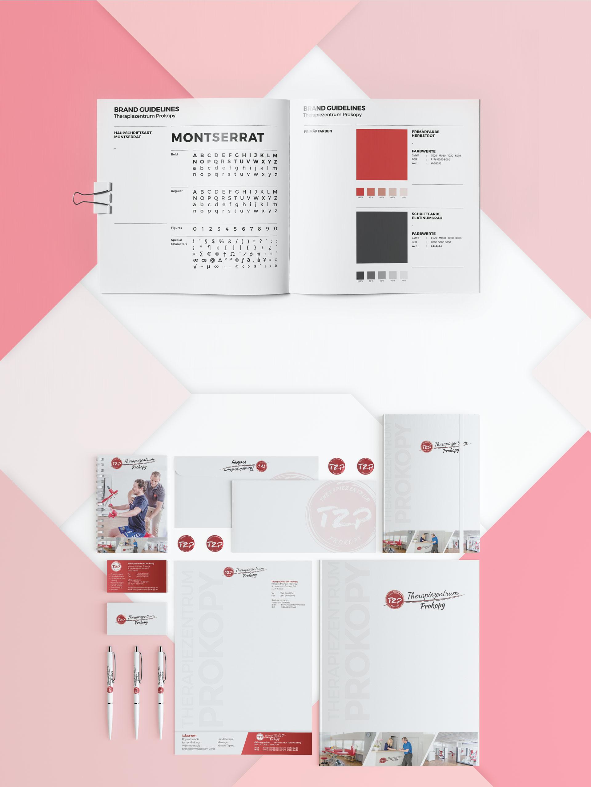 Webdesign und Kommunikationsmittel
