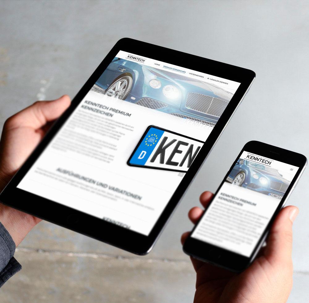 Webdesign Kassel für Technologieunternehmen