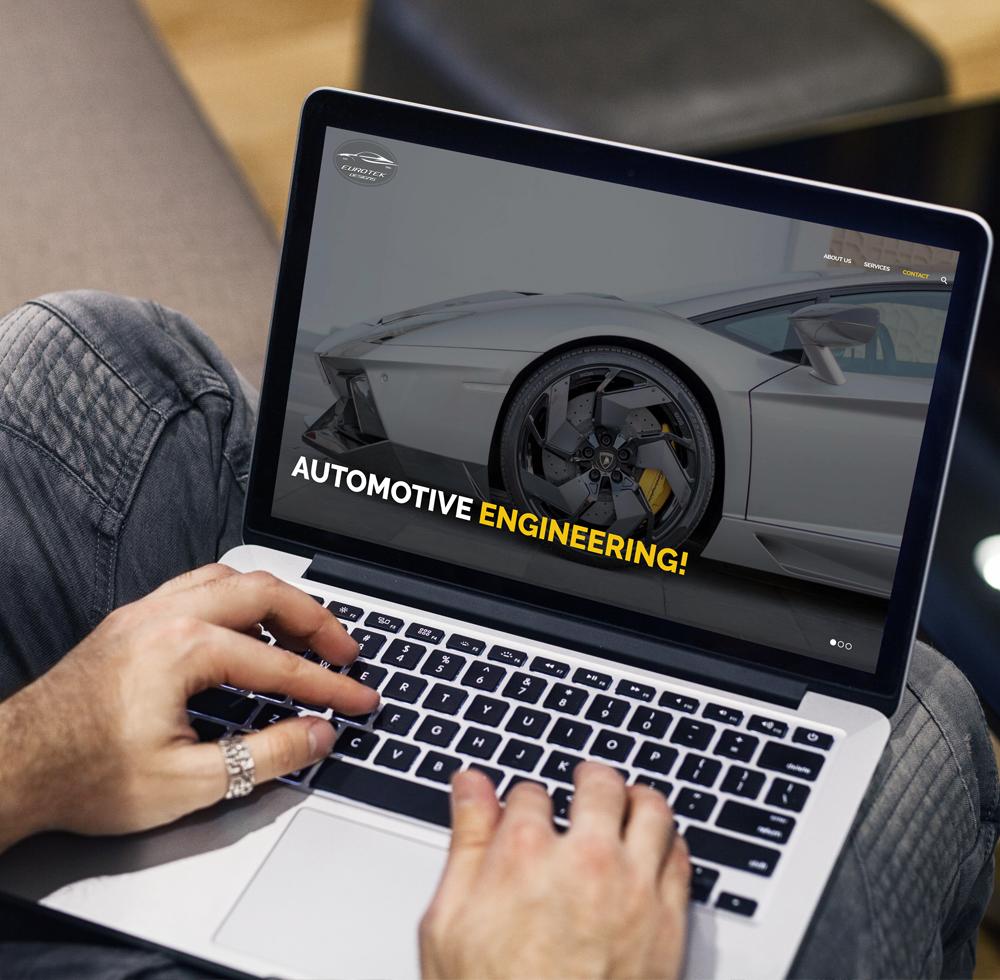 Eurotek Designs Webdesign Logodesign