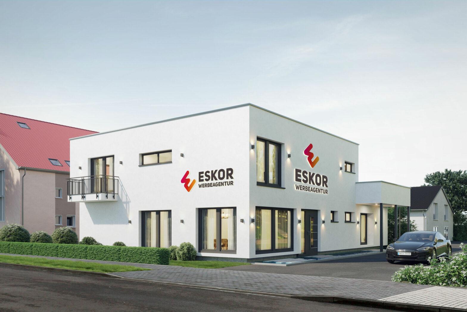 ESKOR baut neues Geschäftsgebäude